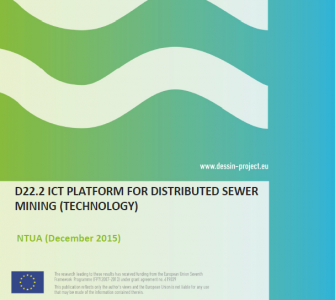 D22.2 ICT platform for distributed sewer mining (technology)