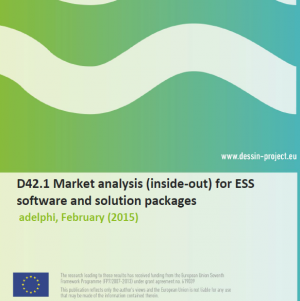 D42.1 Market analysis for ESS software and solution packages (internal)