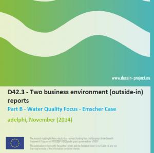 D42.3 Business Environment Report Water Quality (internal)