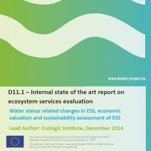 State of the art report on ecosystem services evaluation (D11.1)
