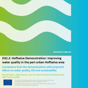 D32.2 Hoffselva Demonstration Improving water quality in the peri-urban Hoffselva area
