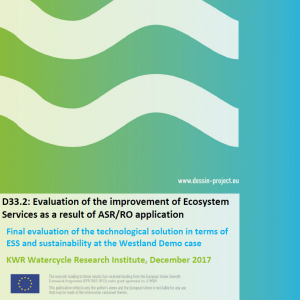 D33.2 Evaluation of the improvement of Ecosystem Services as a result of ASRRO application