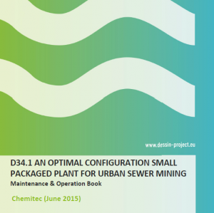 D34.1 An optimal configuration small packaged plant for urban sewer mining