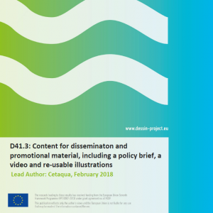 D41.3 Content for disseminaton and promotional material, including a policy brief, a video and re-usable illustrations