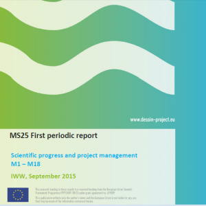 MS25 - First periodic report to EC