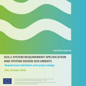 SYSTEM REQUIREMENT SPECIFICATION AND SYSTEM DESIGN DOCUMENTS (D23.1)