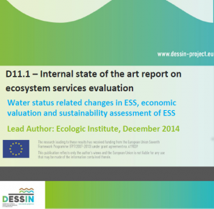 D11.1 Internal state of the art report on ecosystem services evaluation - confidential