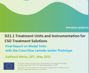 D21.1 Treatment Units and Instrumentation for CSO Treatment Solutions - Confidential