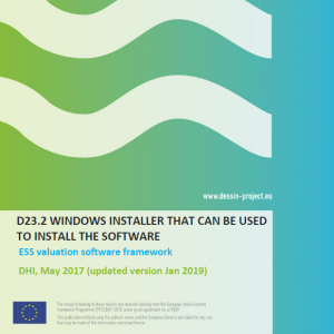 ESS Valuation Software (Windows Installer D23.2)