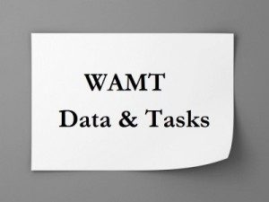 WAMT - Data & Tasks
